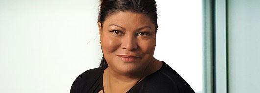 Portrait of Indira Ramsahoye